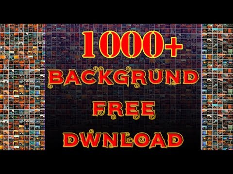 How to Download 1000+ Free Manipulation Background For Editing/Mj MuNnA