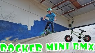 BACK AT IT AGAIN…ON THE ROCKER MINI BMX!
