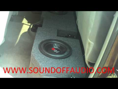 DODGE RAM QUAD CAB Speaker Box 2002 to 2012