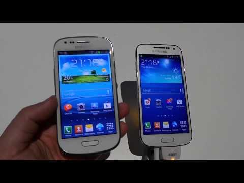 Samsung Galaxy S3 Mini vs Galaxy S4 Mini
