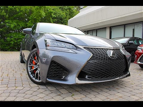 THE NEW 2016 LEXUS GS F REVIEW