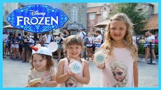 Disney World Visit | The Frozen Ride and Meeting the Real Life Frozen Elsa and Anna