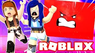 CRUSHED BY A CRAZY SPEEDING WALL IN ROBLOX!