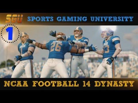 NCAA Football 14: SGU Gamers Dynasty EP1 (Teambuilder Dynasty)