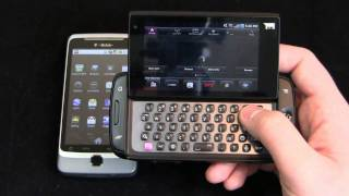 T-Mobile Sidekick 4G vs. T-Mobile G2 Dogfight Part 2