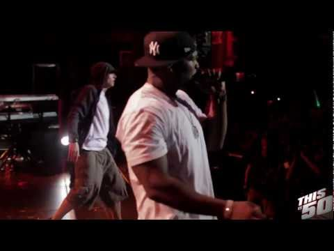 50 Cent x Eminem - Till I Collapse Remix (Live @ SXSW - Austin - 2012)
