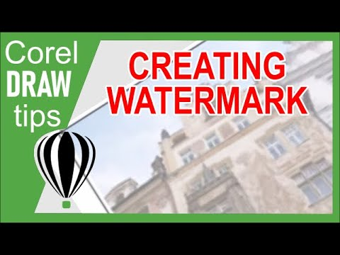 Watermark Background in CorelDraw