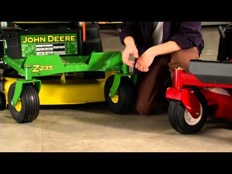 Zero Turn Riding Lawn Mower Comparison: Toro vs. John Deere