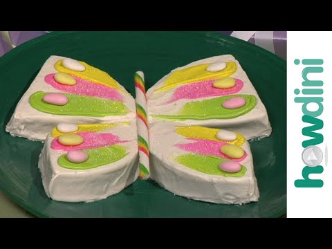 Butterfly birthday cake decorating ideas &#8211; How to make a cake