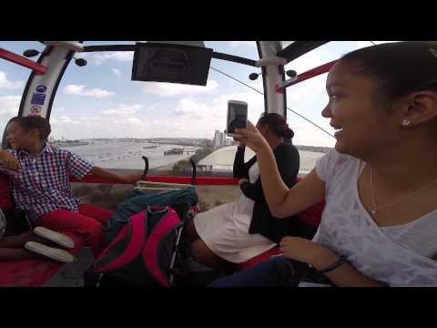 Karen - London Visit Emirates Cable Car