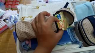 Cách chuẩn bị đồ đi sinh