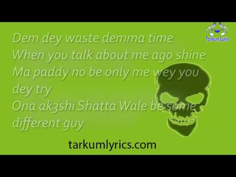 SHATTA WALE - Ayoo lyric video