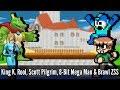 King K. Rool, Scott Pilgrim, 8-Bit Mega Man & Brawl ZSSamus - Super Smash Bros. Wii U Mods