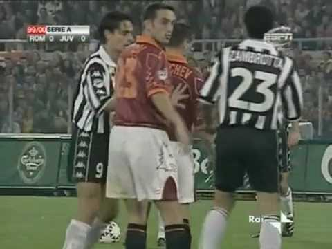 AS Roma 0-1 Juventus - Campionato 1999/00