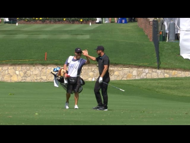Kevin Chappell slam dunks it for eagle at DEAN & DELUCA