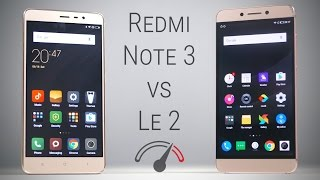 Redmi Note 3 vs LeEco Le 2 Speedtest Comparison!