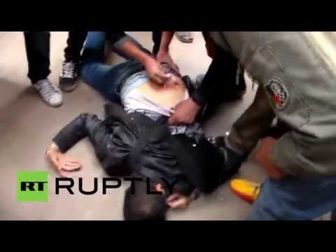 Egypt: Clashes erupt in Cairo anti-government protest