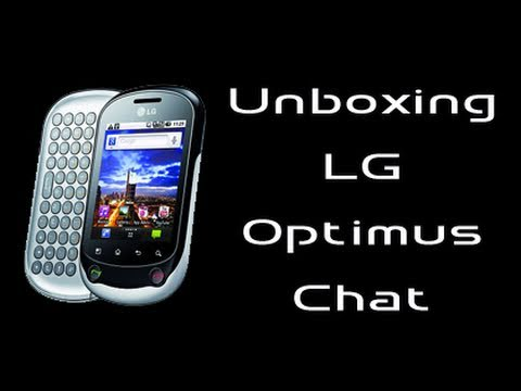 LG Optimus Chat, unboxing in italiano by AndroidWorld.it