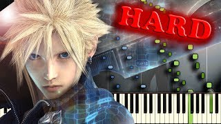 FINAL FANTASY VII - THOSE WHO FIGHT - MOST INTENSE PIANO VERSION!!!