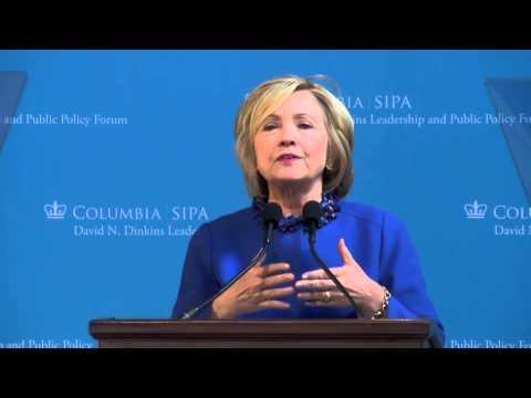Hillary Clinton Keynote Speech - 18th Annual Dinkins Forum