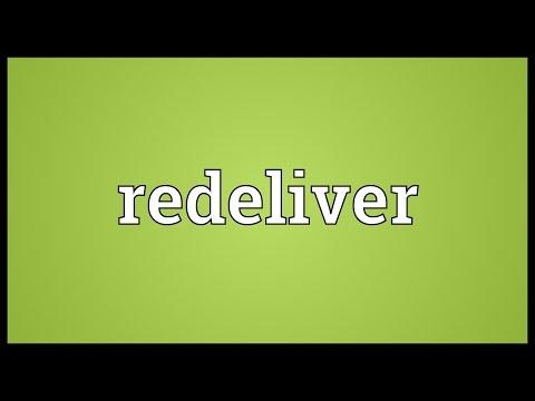 Header of redeliver