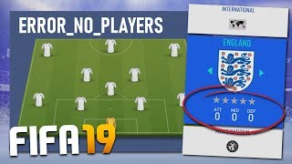 WHAT IF EVERY PLAYER WAS THE SAME NATIONALITY ON FIFA 19?!