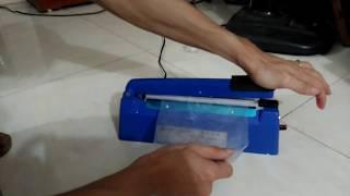 Máy hàn miệng túi bằng tay PFS - 200 loại bề rộng mép hàn 5mm