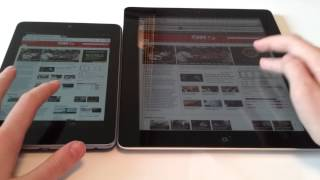 iPad 3 vs nexus 7 internet comparison