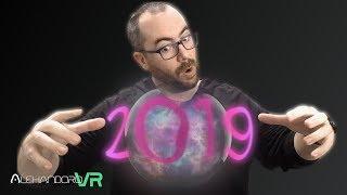 2019 en REALIDAD VIRTUAL tanto JUEGOS como VISORES