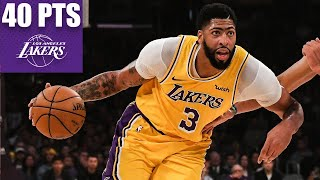 Anthony Davis goes off for 40-20 in 3 quarters | 2019-20 NBA Highlights
