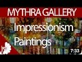 Impressionism Paintings- 19th-century art movement