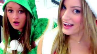 CHRISTMAS DANCE AT THE APPLE STORE!   iJustine