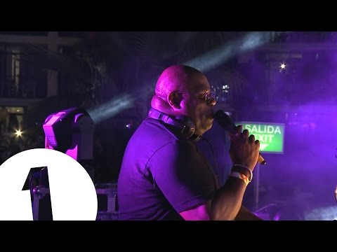 Carl Cox from Radio 1 in Ibiza 2015