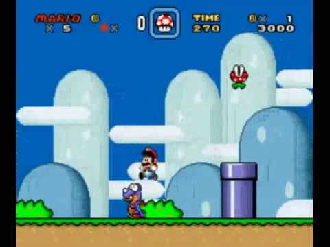 Thumb Propuesta de matrimonio con Super Mario World