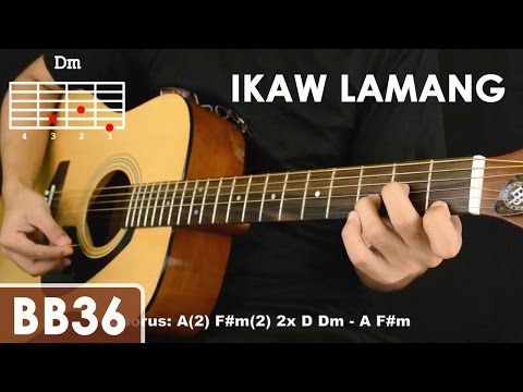 Ikaw Lamang - Silent Sanctuary Guitar Tutorial (cello Mute Effect, Chords, Strumming)