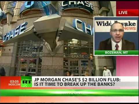 JP Morgan too big to regulate?
