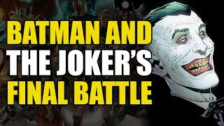 Batman and Joker's Final Battle (New 52 Batman Vol 4: Endgame)