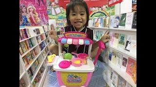 BB Kitty- Chơi đồ chơi ''Xe Đẩy Nhà Bếp'' - Play Baby Toys