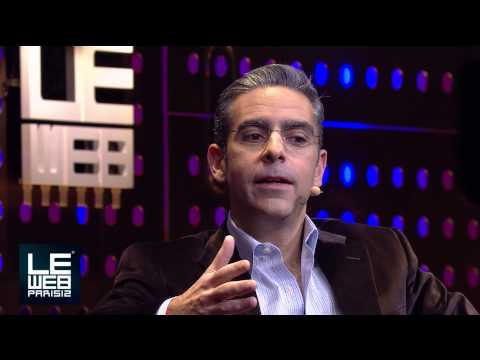 David Marcus, President of Paypal is Interviewed by Loic Le Meur at LeWeb Paris 2012
