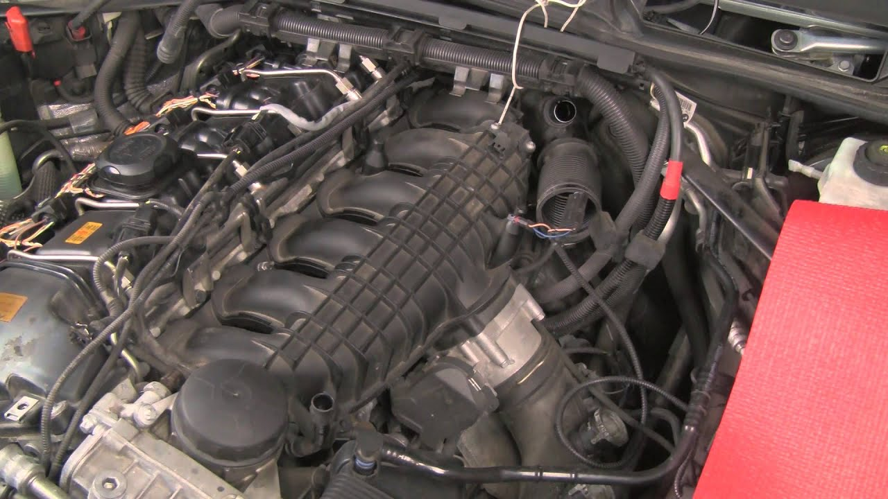 Cleaning Carbon From Intake Ports And Valves On Bmw And Mini Turbo Engines N54 N55 Youtube