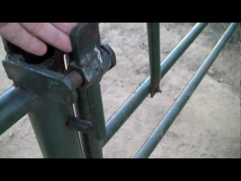 Arceology Inspired Welding Projects Ranch Gate Latch