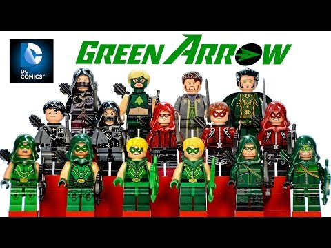Complete LEGO Green Arrow DC Comics™ Super Heroes 2016 Minifigure Collection