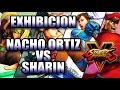 STREET FIGHTER V: Exhibicion Nacho Ortiz vs Sharin [Gamergy 2015]