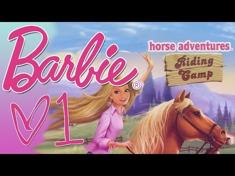 Barbie Horse Adventures Riding Camp -1- TANK CONTROLLED HORSES.