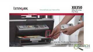 Lexmark Printers - X8350 All-in-One Plus Photo