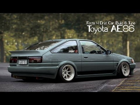 Forza 4 Drift Car Building & Tuning - #4 - Toyota AE86