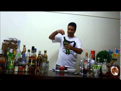 Receita - Saquerinha de Morango - Executivo dos Drinks - Denis de Moraes
