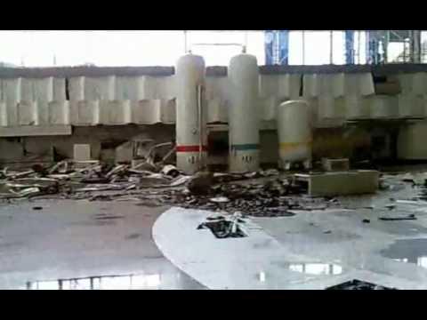 Саяно шушенская ГЭС, машзал, авария