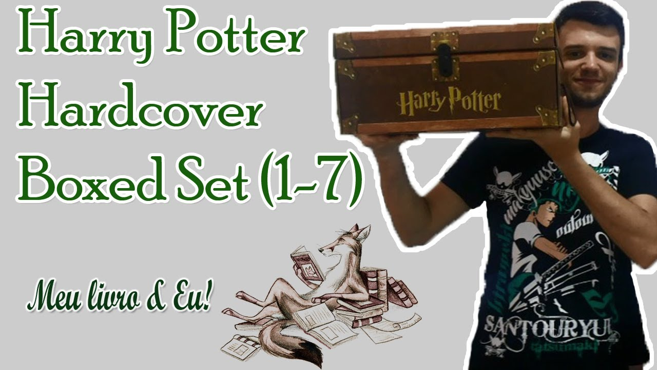 Harry Potter Hardcover Boxed