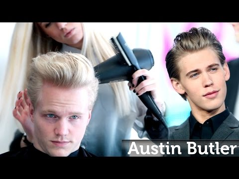 Austin Butler Hairstyle ★ Professional Men's Haircut & Style ★ By Slikhaar TV